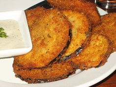 With Africa still on our mind, we've pulled this super easy African recipe  that uses a very versatile and in-season vegetable, the eggplant. This is a  great Meatless Monday recipe from South Africa that can be used as an  appetizer or a side dish. The savory batter on the eggplant adds the  perfect spice to this fried treat.  Adapted from one of my favorite African cookbooks, The Africa Cookbook, by  Jessica B. Harris