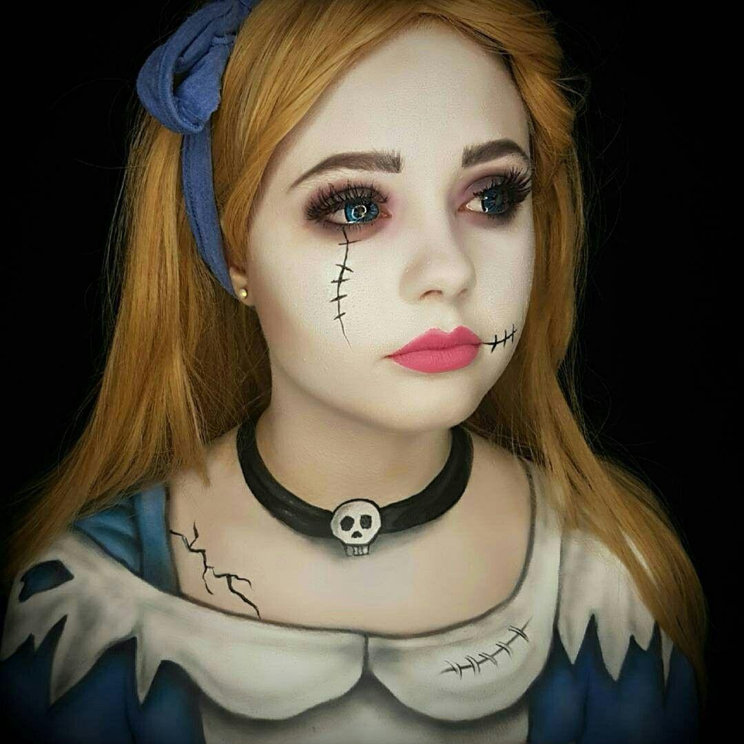 Pin de Ева en на праздник Maquillaje de halloween de