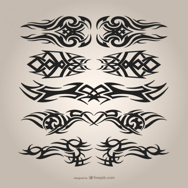 Download Tribal Tattoos Set For Free Tribal Tattoos Tattoo Set Tribal Tattoo Designs