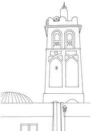 Mosquée coloriage islam | Mosquée, Coloriage, La grande ...