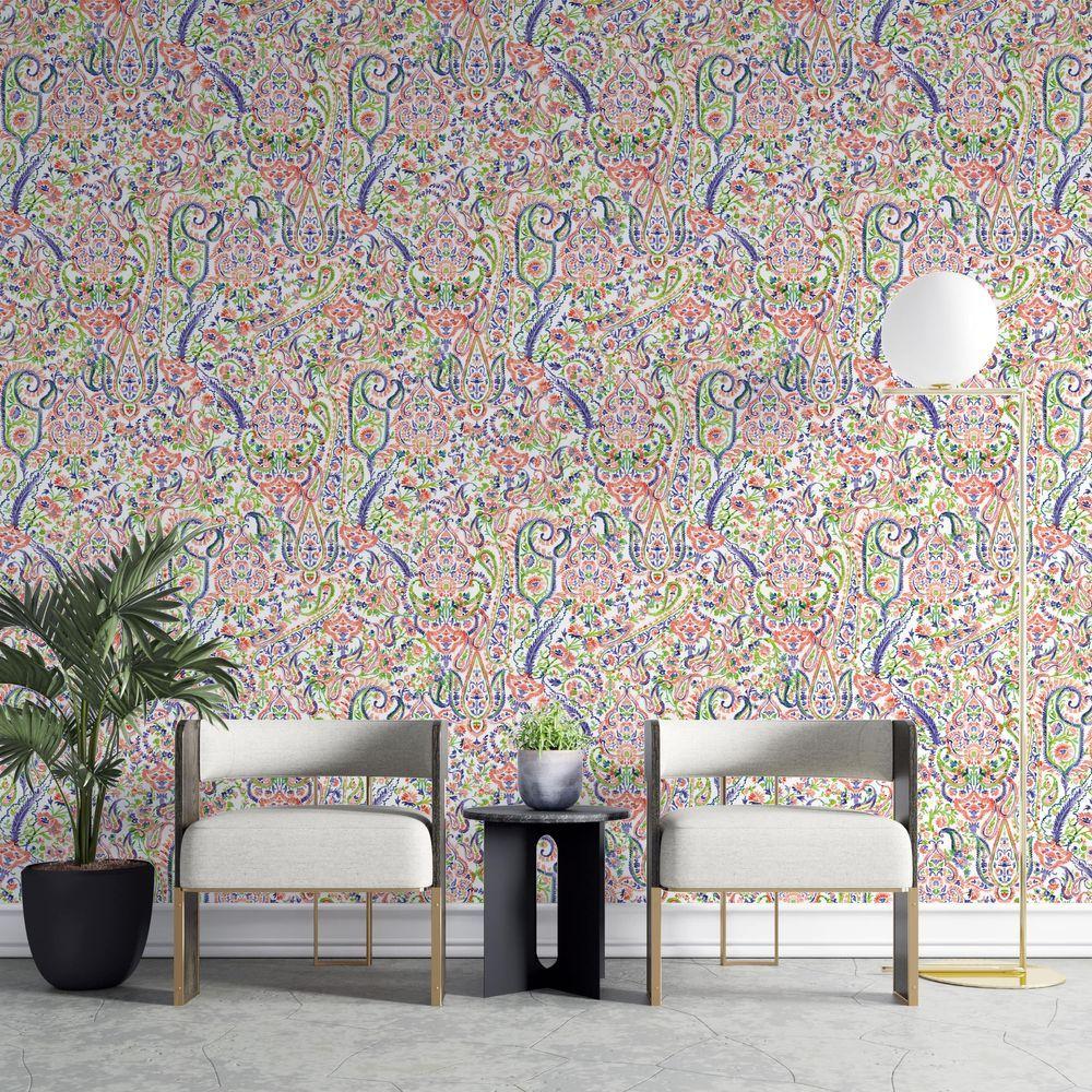 India Wallpaper La Touche Originale Mom Coverings Walls Wallpaper Home Decor Wall Decor Home Decor Decals