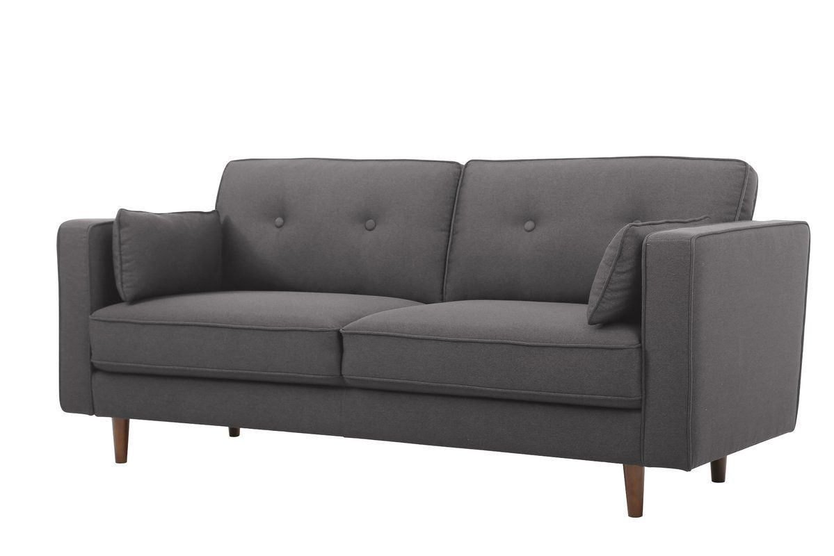 Turn On The Brights Carlyle Sofa Reviews Wayfair Contemporary Couches Gray Sofa Modern Grey Sofa