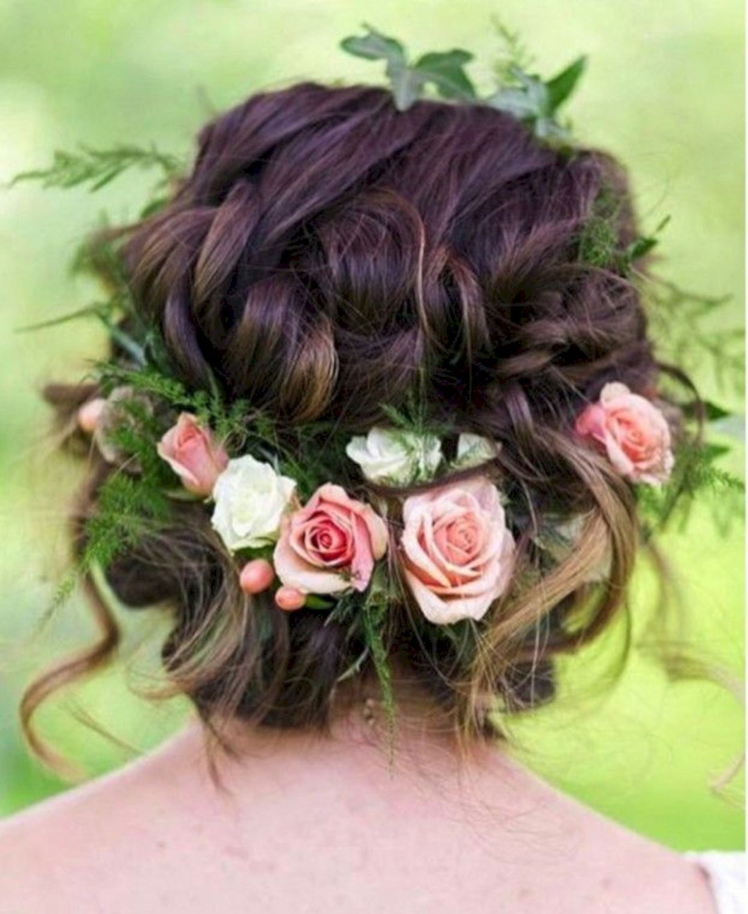 Awesome top 50 wedding short hairstyles with flower crown ideas awesome top 50 wedding short hairstyles with flower crown ideas httpsoosiletop 50 wedding short hairstyles with flower crown ideas 13131 izmirmasajfo