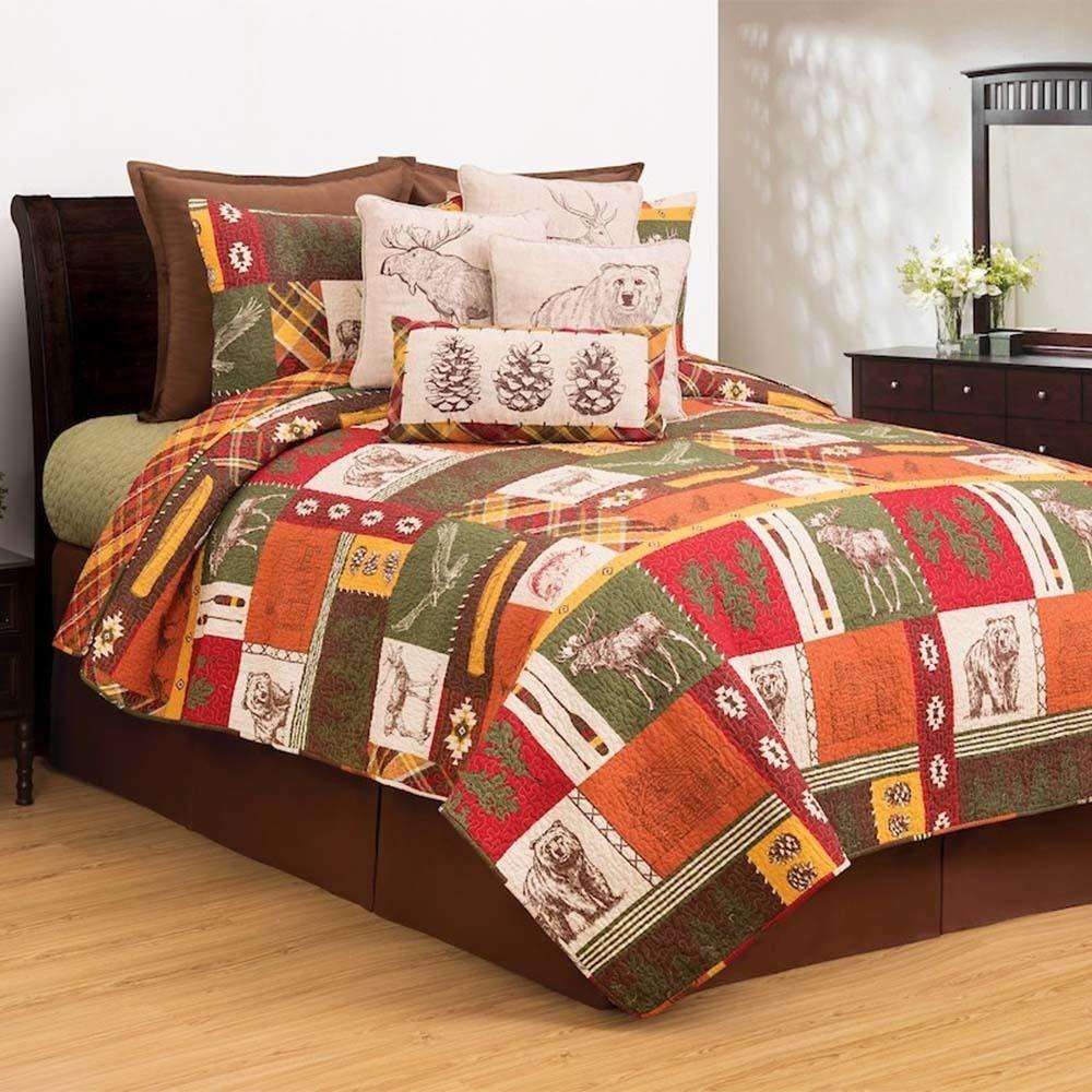 Keaton Forest Quilt Set Bedding sets, Best bedding sets, Bed