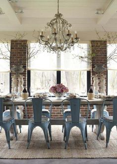 Room Industrial Style Dining