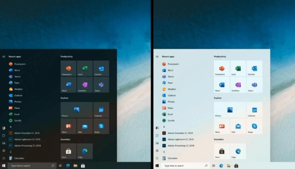 New Windows 10 Start Menu Design Is Here To Make Things Simpler Microsoft Startmenu Windows10 Windows10startmenu Window In 2020 Microsoft Windows 10 Windows Phone