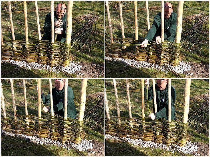 Sichtschutz selber bauen 5 DIYs aus Naturmaterial Gardens - gartenzaun holz selber bauen