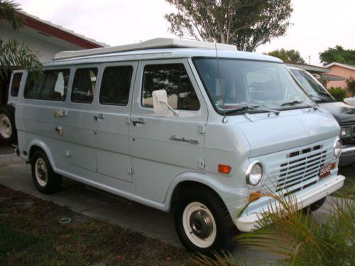 1969 Ford Van Econoline Camper Vans Ford Van Custom Vans