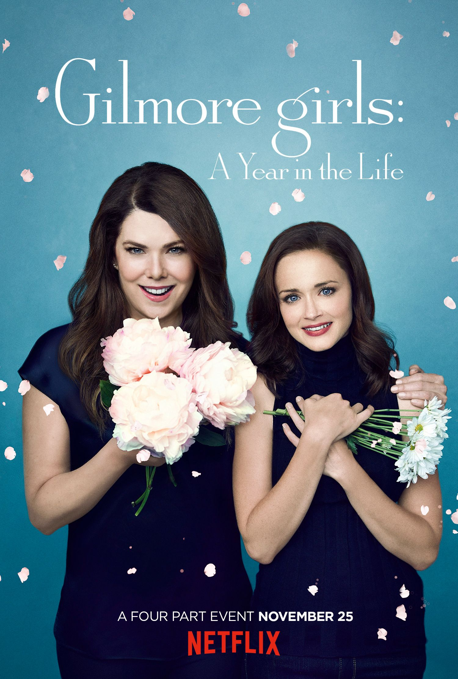Check Out the 4 New Seasonal Posters from Gilmore Girls: A Year in the Life - Spring from InStyle.com