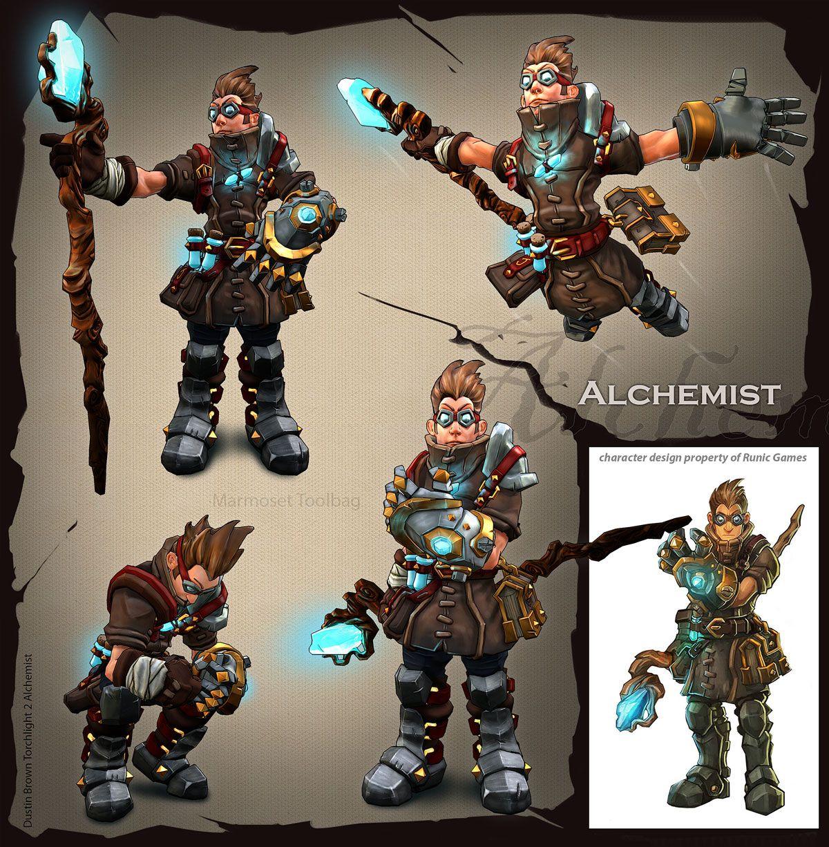 Alchemist fan art – Torchlight 2