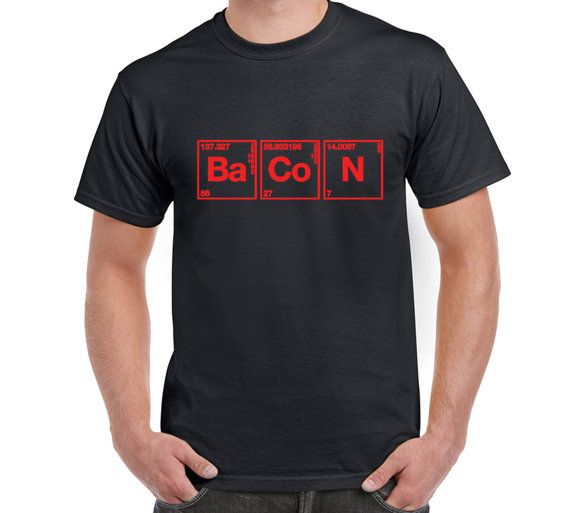 Bacon t shirttee periodic table of elements by freakytshirtshop bacon t shirttee periodic table of elements by freakytshirtshop urtaz Image collections