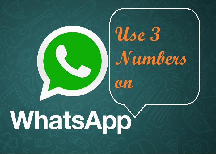 Use Multiple Numbers On Whatsapp Android Tricks Used Cell Phones Learn Hacking Health Statistics
