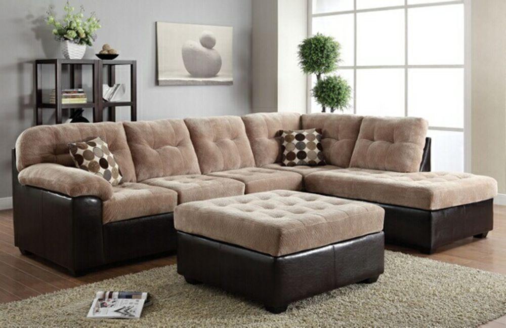 Sears Com Fabric Sectional Sofas Sectional Sofa Acme Furniture #sears #living #room #furniture