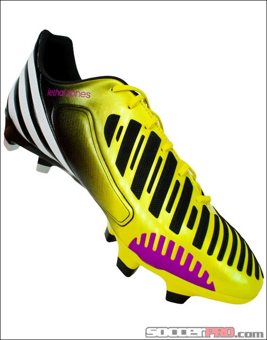 timeless design 0d01c 4ae4c adidas Predator LZ TRX FG Soccer Cleats - Vivid Yellow with Pink... 197.99