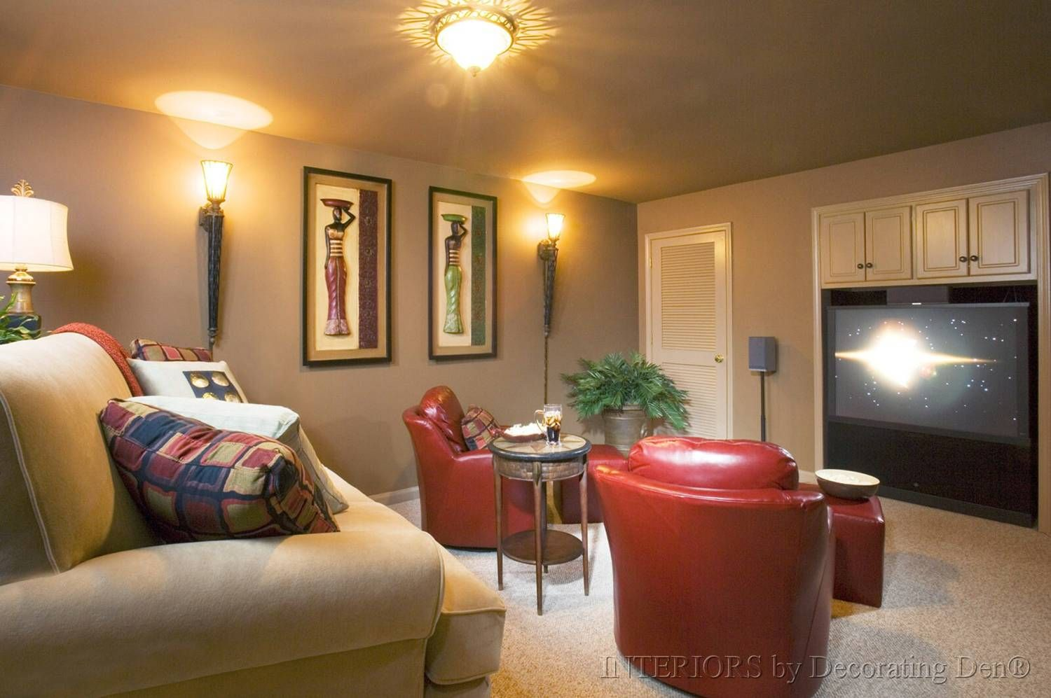 Superior Small Media Room Ideas Part - 6: 27 Awesome Home Media Room Ideas U0026 Design(Amazing Pictures
