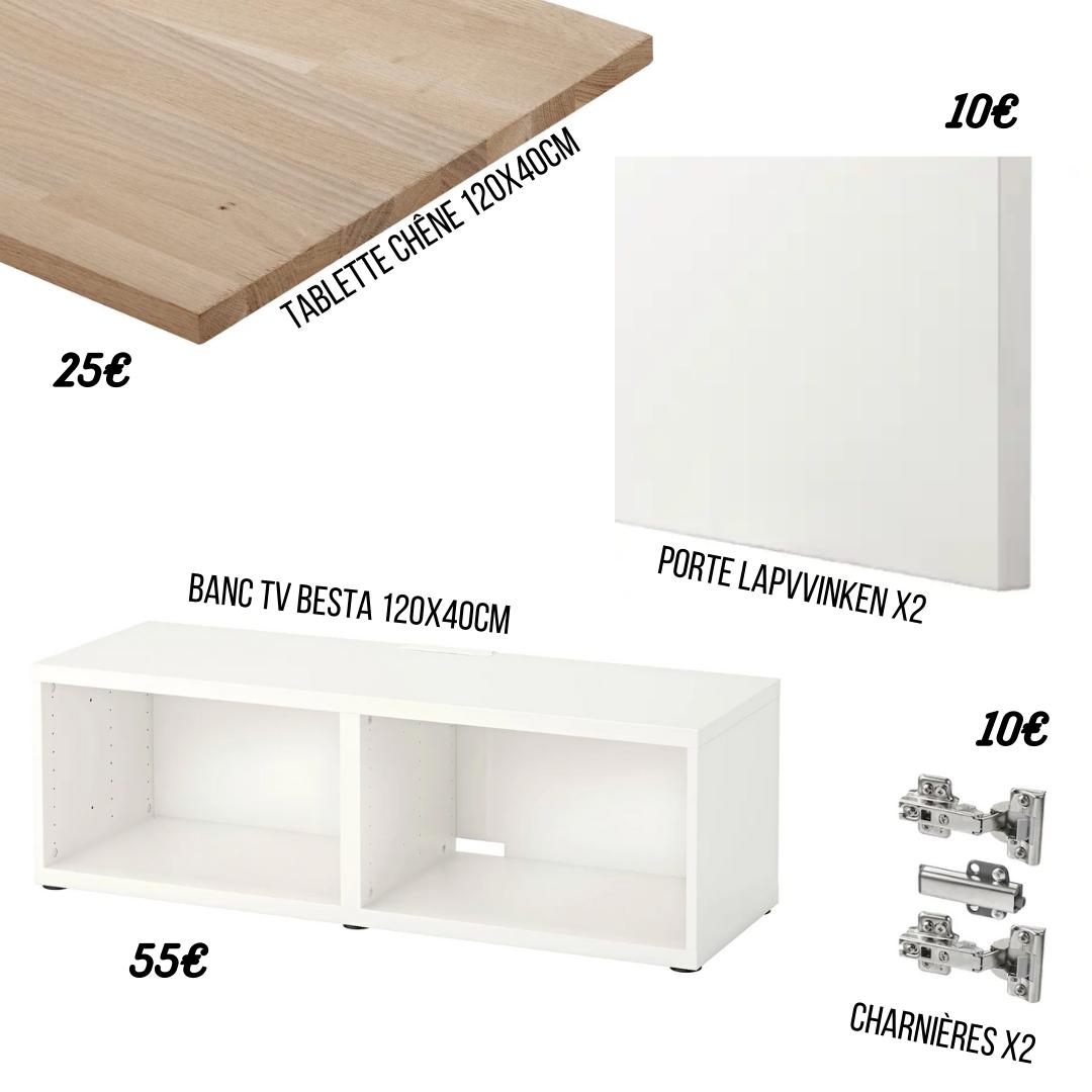 diy meuble tv scandinave club