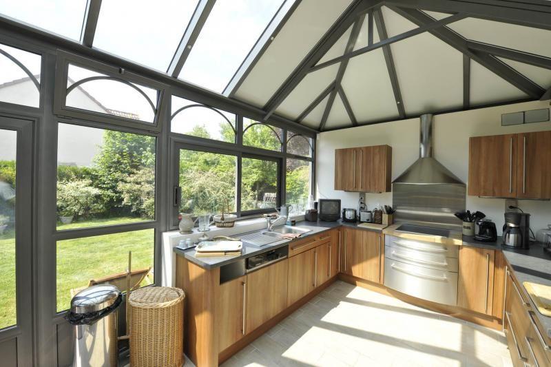 Aménager une cuisine dans une véranda Verandas - cuisine dans veranda photo