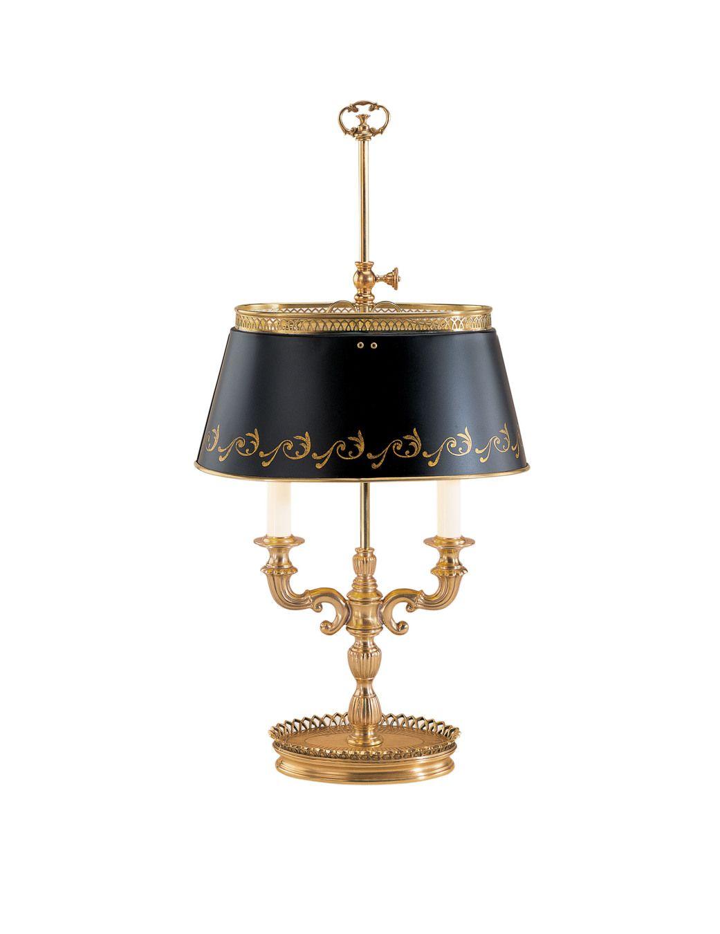 Antiqued Brass Lamp Decorative Crafts