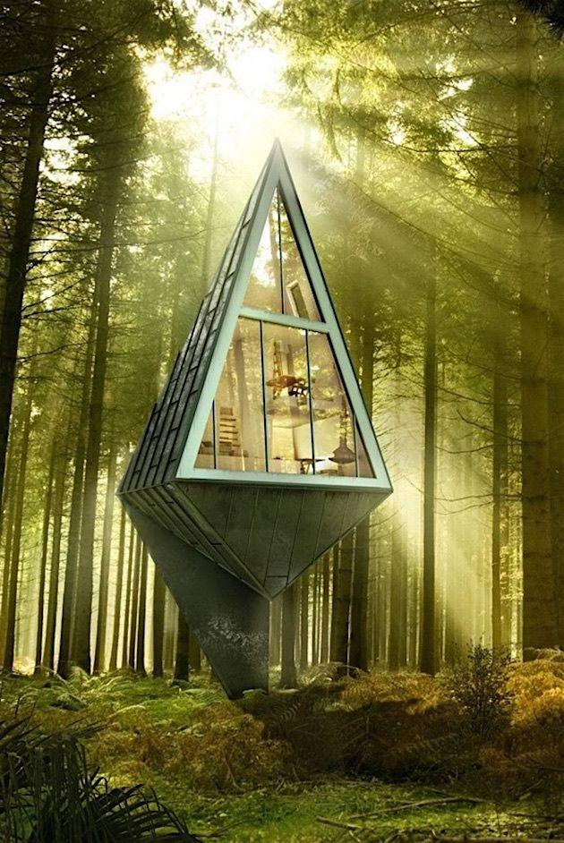 Baumhaus Architekturbüro neue wohnkonzepte entwickeln der dänische architekt konrad wójcik