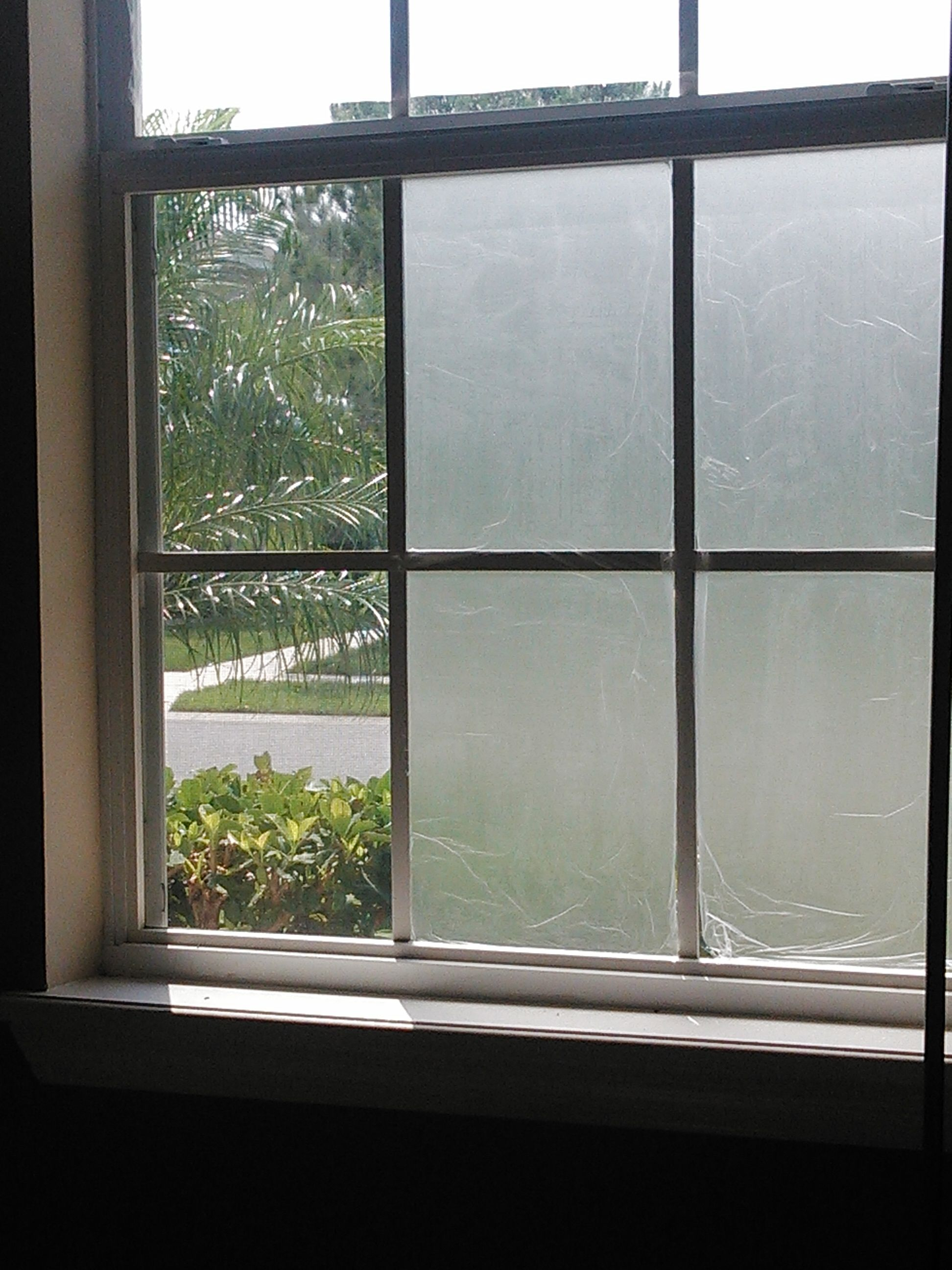 Not Enough Curtains Quick Fix For Translucent Window