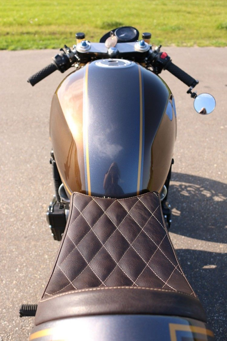 Suzuki Gsx1200 Cafe Racer By Barn Brothers Selles