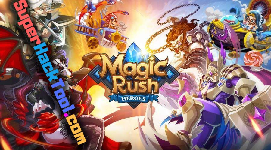 Magic Rush Heroes Mod APK Unlimited Diamonds and Gold Generator for