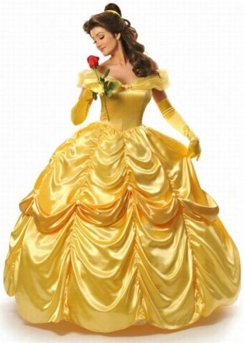 "The inspiration for all of my wedding dress designs... ""Disney beauties brought to life-Belle"""