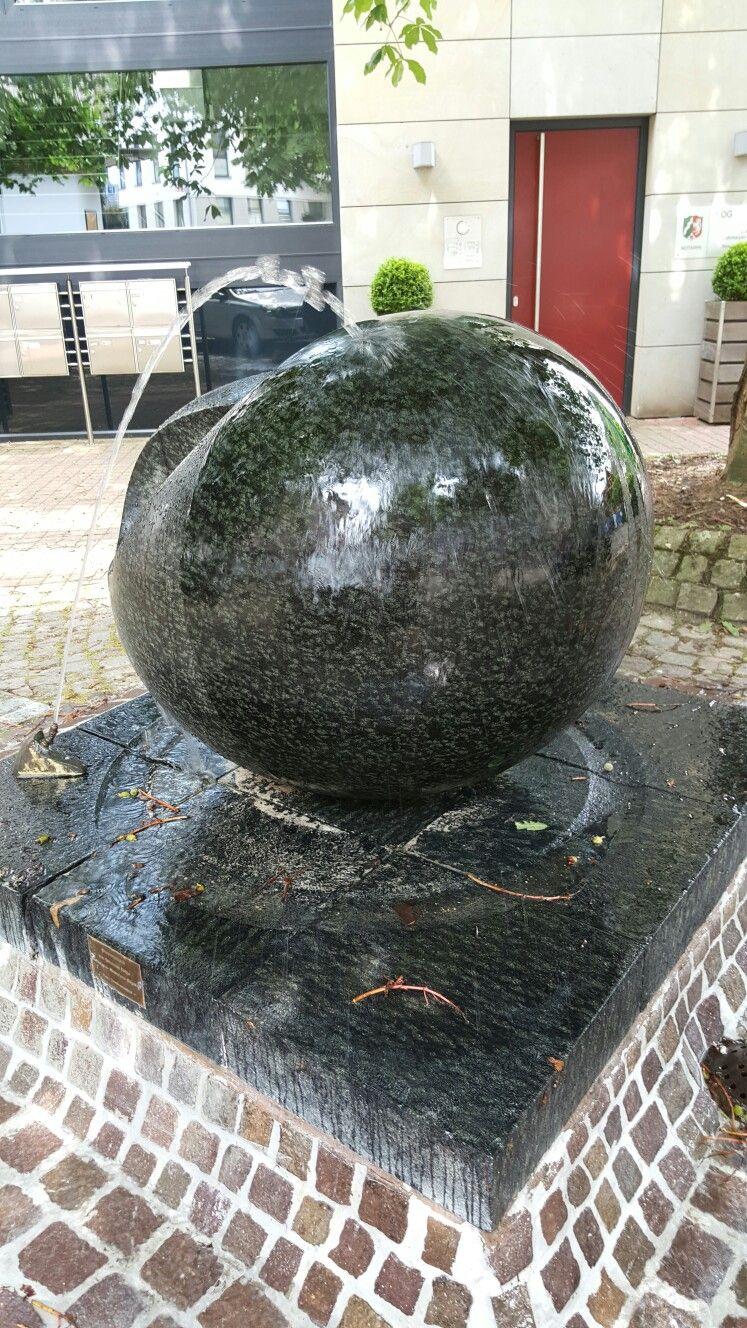 Brunnen  in  Porta Westfalica.