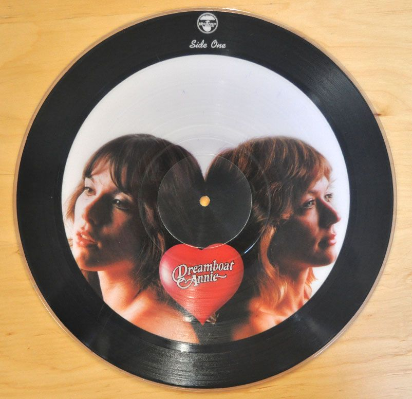 Heart Dreamboat Annie Picture Disc Vinyl Lp 12 Inch12 Inch Vinyl Music Love Vinyl Records