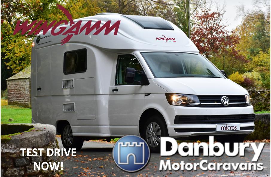 Wingamm Micros Now Available At Danbury Motorcaravans Of Bristol Camper Camper Van Recreational Vehicles