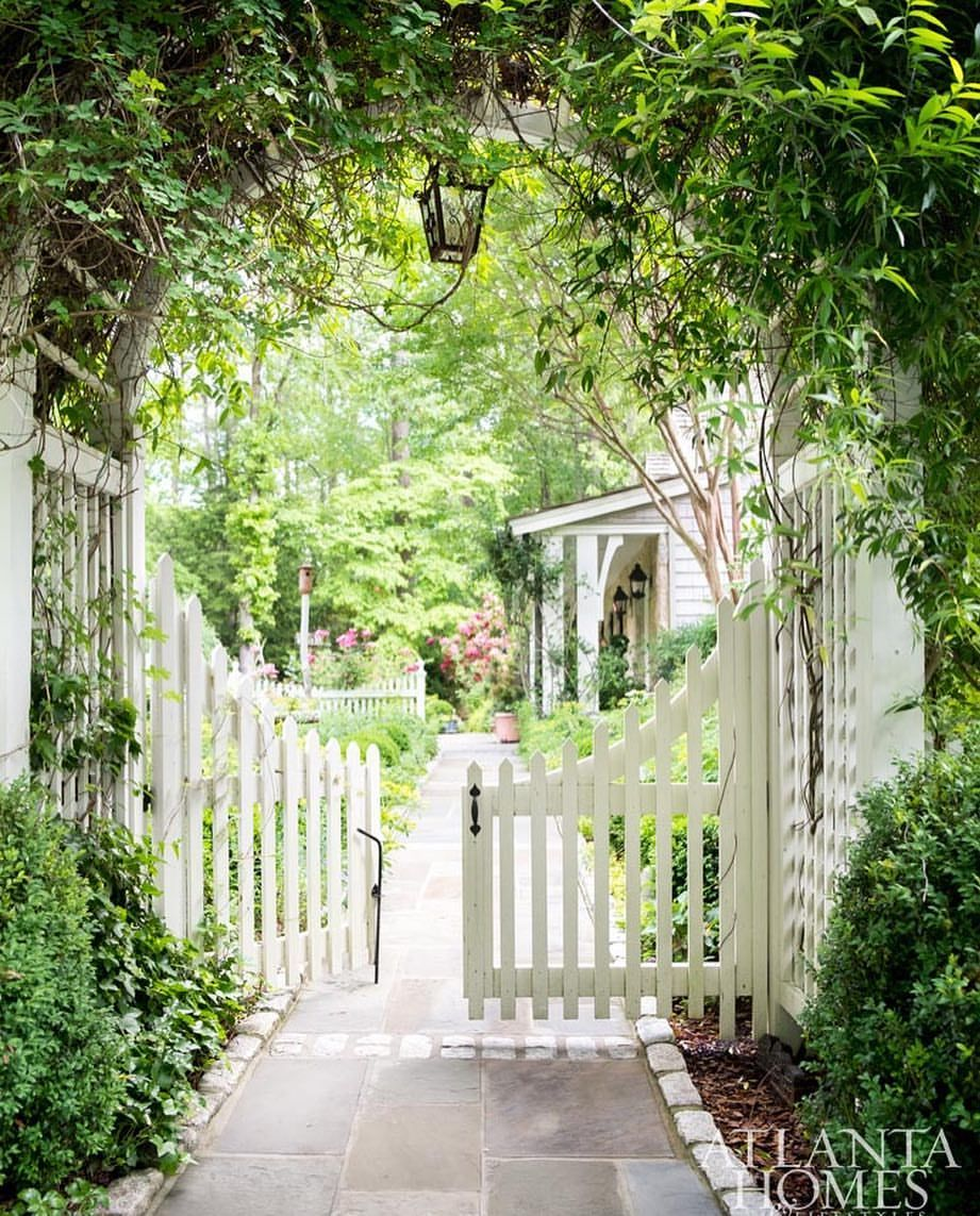 Cancello Giardino Atlanta Homes Lifestyles Atlantahomesmag On Instagram