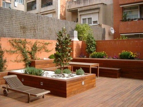 17 Tipps für Holz Boden Belag im Garten oder auf der Terrasse Gardens - gartengestaltung mit holz