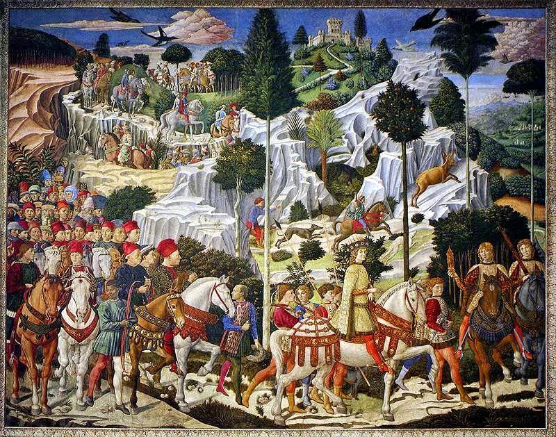 Correio da Júlia Paixão: O Cortejo dos Reis Magos (1449)