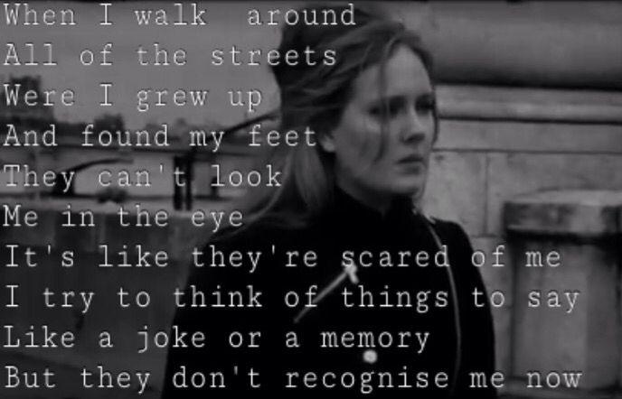 Million Years Ago Adele Lyrics Adele Songs Adele Music Adele