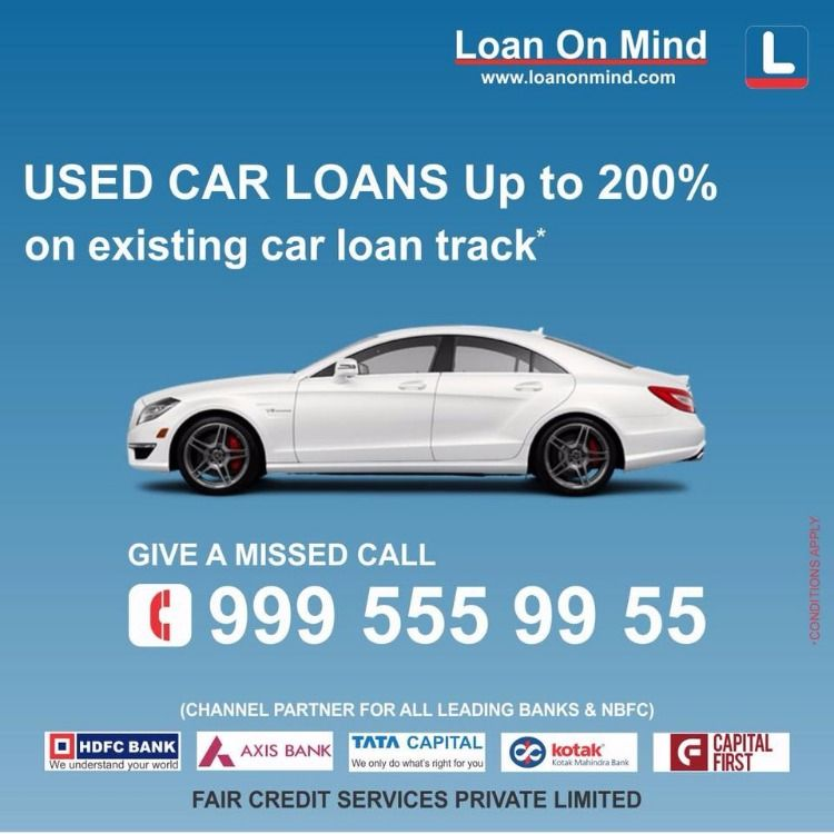 Get Used Car Loan In Hyderabad Car Loans Loans For Bad Credit Used Cars