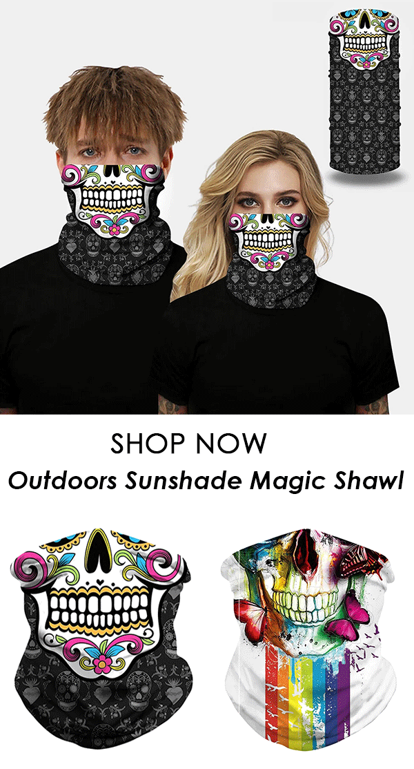 Face Mask Sports Mountaineering Insect-proof Sunshade Magic Shawl
