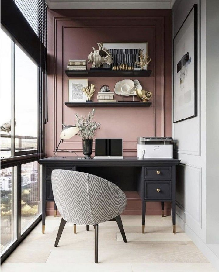 10+ Home Office Ideas That Will Make You Rethink Your Workspace #interiordesign