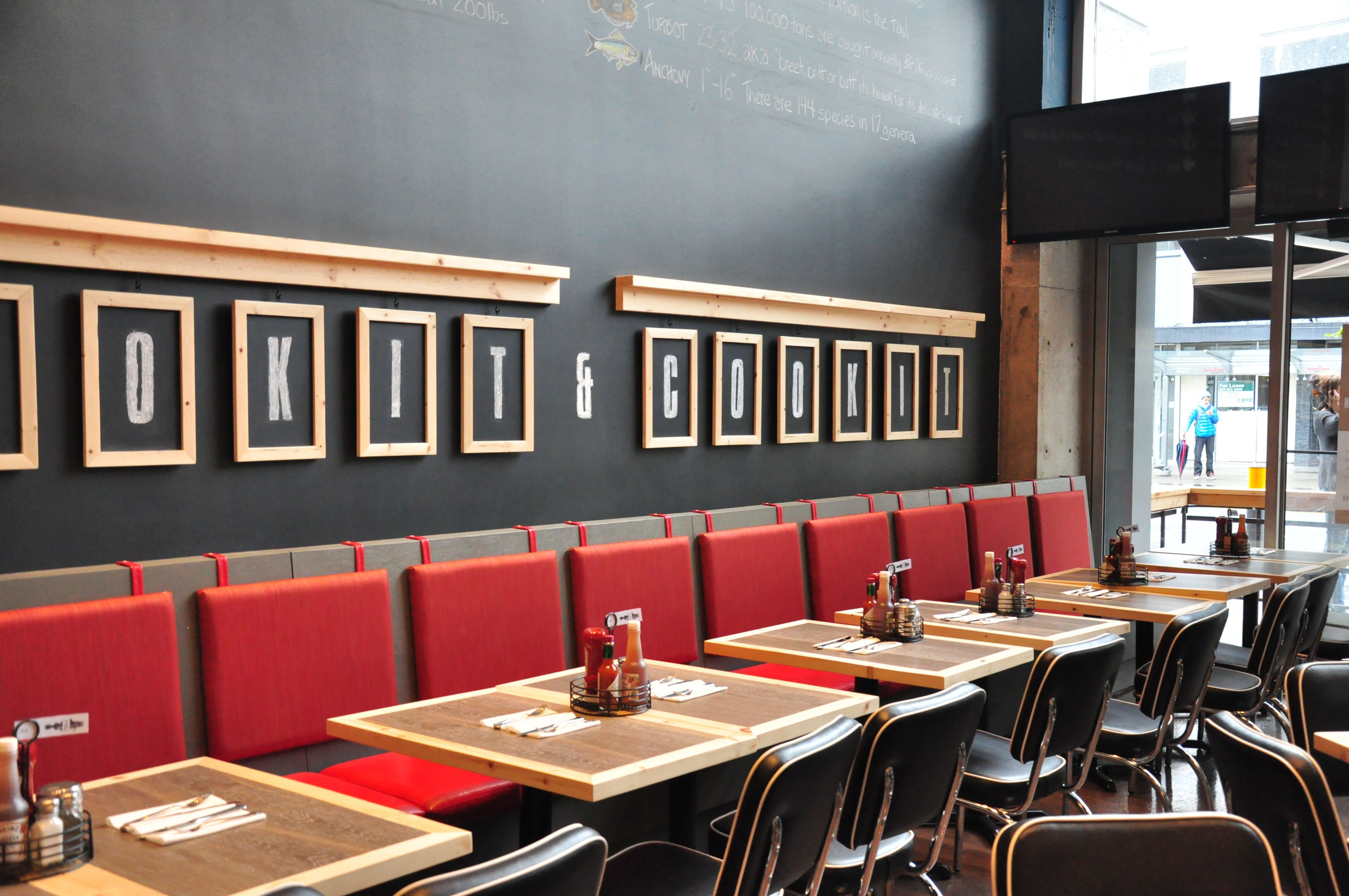 Fish Shack Seating With Images Restaurant Interior Design