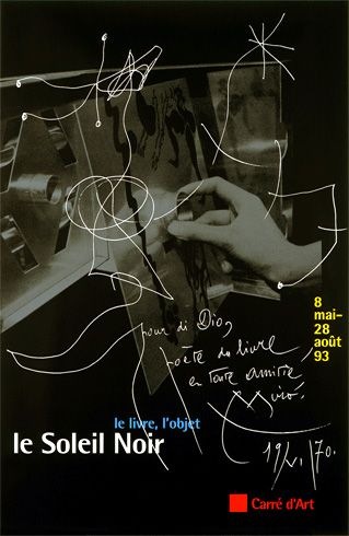 Poster by the french graphic designer Philippe Apeloig Affiche pour