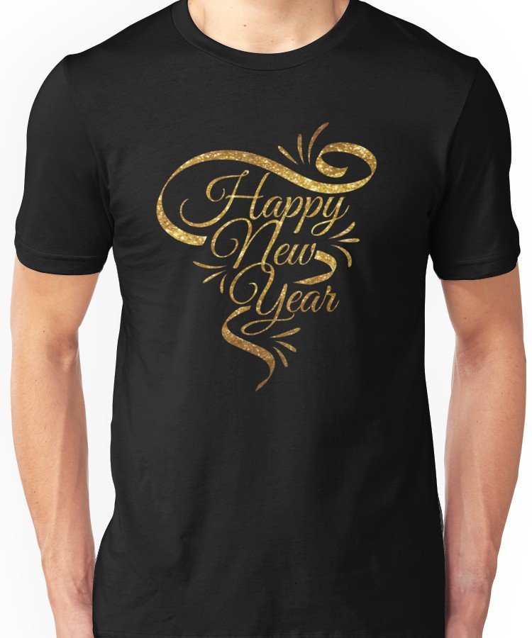 'Happy New Year 2019' Essential T-Shirt by superte