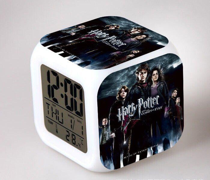 Vintage Harry Potter digital led clock
