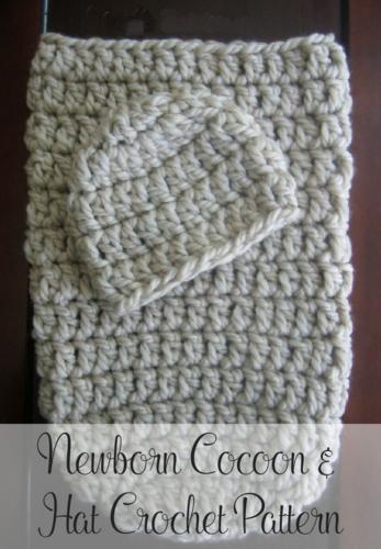 Free Crochet Cocoon & Hat Pattern | Pinterest | Häkelmuster ...