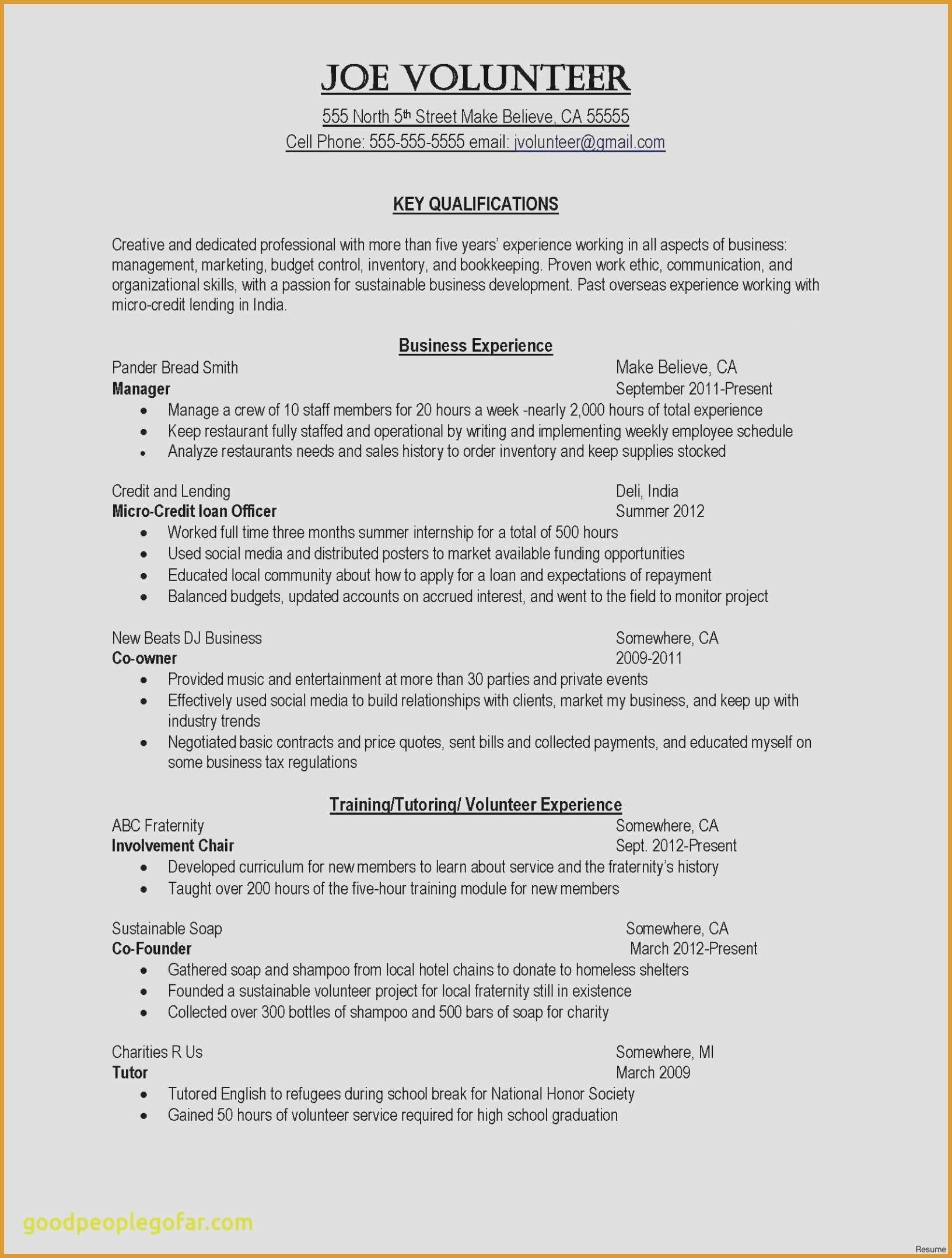 78 Elegant Collection Of Resume Examples For Creative Fields