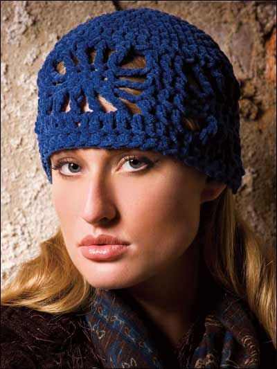 Easily Stitched Fashionable Cloche Is Made With Bulky Weight Yarn
