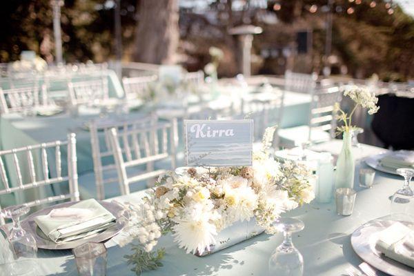 La Jolla Beach Wedding Table Numbers Wedding Beach Wedding
