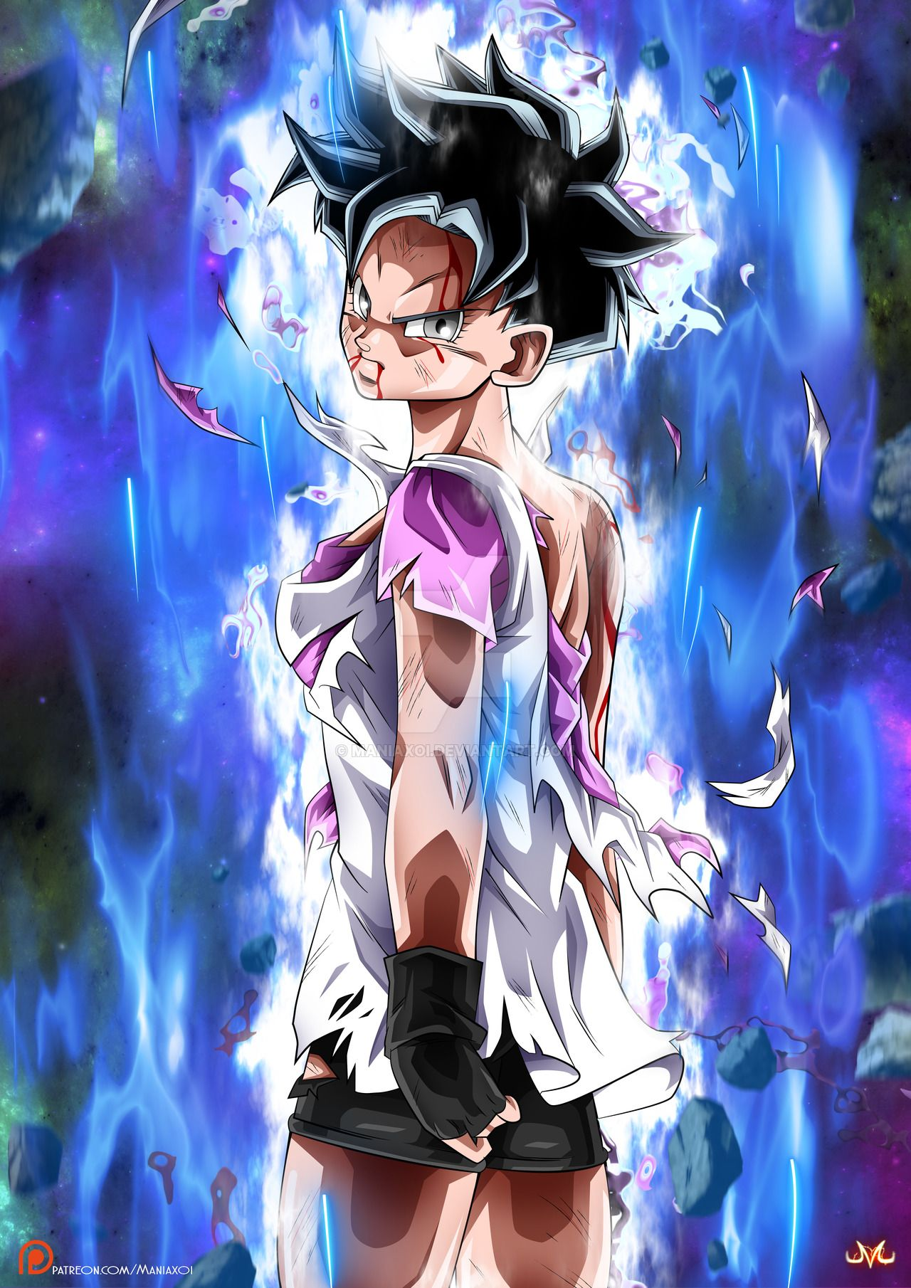 Videl 1080x1810 live wallpaper in comments beautiful - Dbz fantasy anime ...