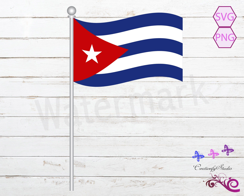 Flag Of Cuba Svg Flag Vector Cuba Flag Flag Image Flag Etsy Flag Vector Cuba Flag Flag