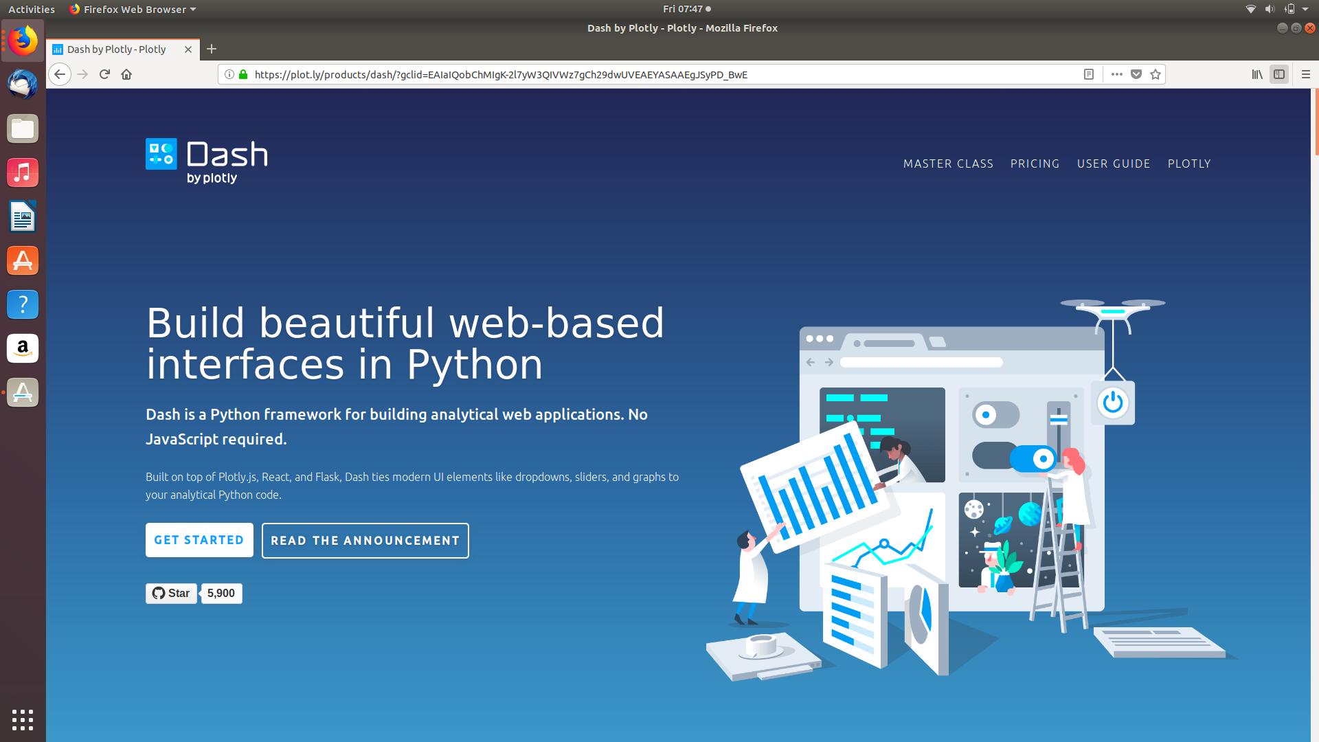 Python Dash framework   Board in 2019   Python, Desktop