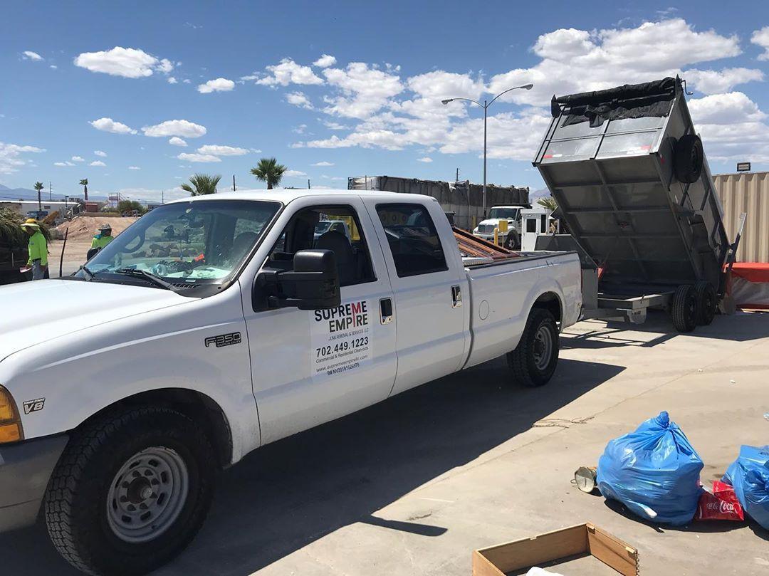 Supreme Empire Junk Removal making Vegas Clean Again