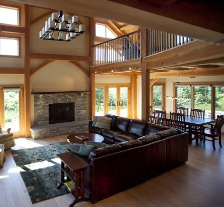 Post And Beam Homes, Timber Frame Homes Constructors ...